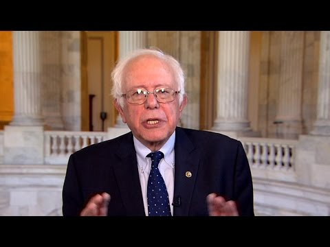 "Bernie Sanders calls Obama's $400K Wall Street speech ""unfortunate"""