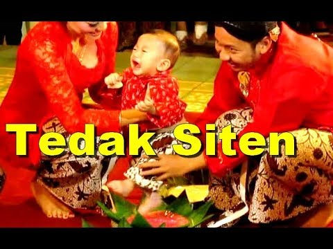 TEDAK SITEN KOMPLIT Ceremony - Upacara Adat Tedhak Siten Jawa [HD]
