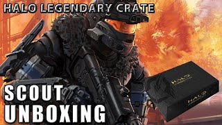 Unboxing - Halo Legendary Crate: Scout