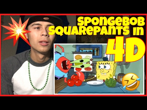 Spongebob Squarepants 4D The Ride | Reaction Therapy