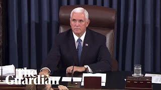 Protesters interrupt Brett Kavanaugh's confirmation in the US Senate