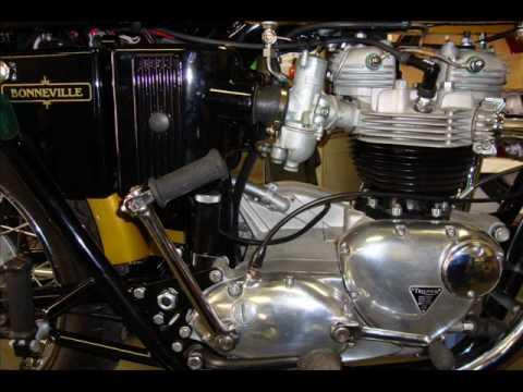 1972 Triumph Bonneville T120r Oil Filter Change By Randys Cycle