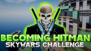 THE HITMAN CHALLENGE + LAG BACK FTW?! ( Hypixel Skywars )