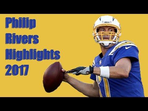 """Gunslinger"" Philip Rivers 2017 Highlights"