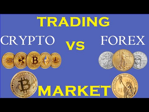 Forex vs Crypto Trading | Should you trade the Forex Market or the Cryptocurrency Market?