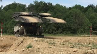 Brückenpanzer Leopard im Härtetest