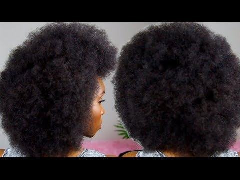 THE PERFECT AFRO TUTORIAL | 4C NATURAL HAIR