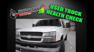Diesel Insights: Used Truck Health Check
