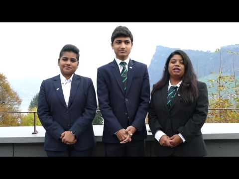 Indian hotel school students at IMI International Management Institute Switzerland