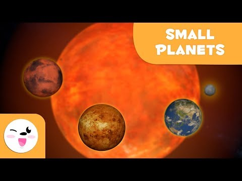 The Smallest Planets In The Solar System - 3D Solar System For Kids