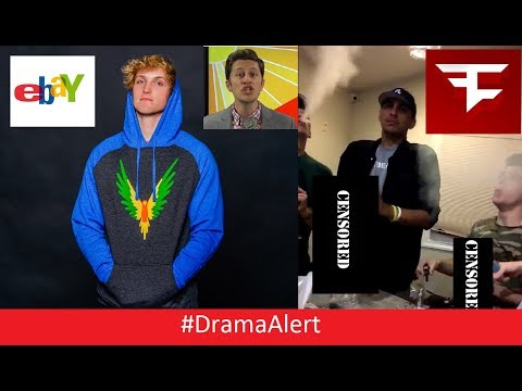 FaZe Rain & FaZe Adapt Do DRUGS! #DramaAlert Logan Paul vs EBAY! Youtubers QUITTING!