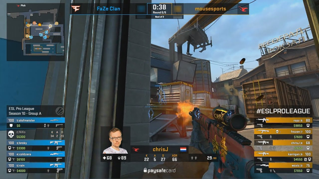 Faze Vs Mousesports