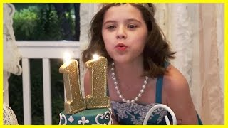 EMMA'S 11th BIRTHDAY!  An EVENING OF ELEGANCE!  |  KITTIESMAMA