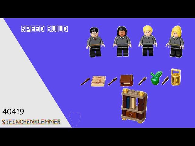 40419 Die Schüler von Hogwarts™ Zubehörset | Speed Build