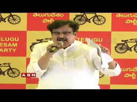 TDP Leader Varla Ramaiah Press Meet   ABN Telugu