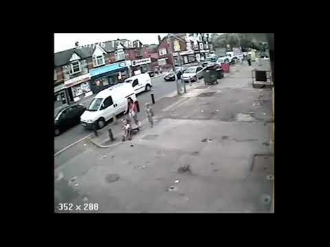SHOCKING CCTV - Armed Robbery on UK Security Van