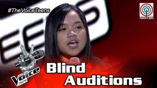 The Voice Teens Philippines Blind Audition: Jouie Anne Reyes - Anak