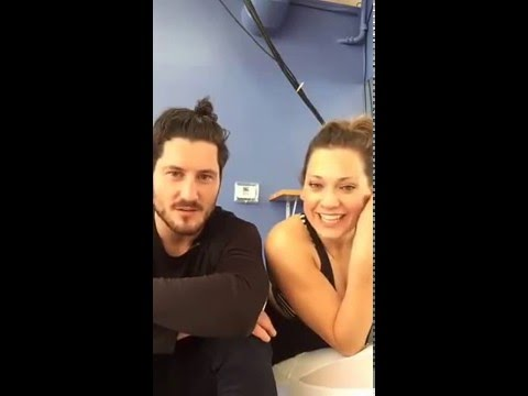 Ginger Zee & Val Periscope - Rehearsing in LA 4/2/16