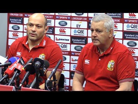 Warren Gatland & Rory Best Full Pre-Match Press Conference - Lions vs Hurricanes