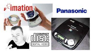 Panasonic Video CD Walkman Imation RipGo! and CD3