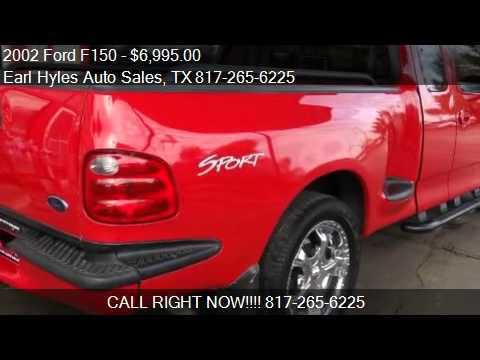 2002 Ford F150 Xlt Sport Supercab Flareside For Sale In Ar