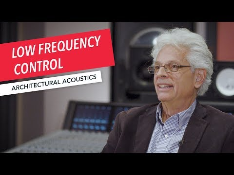 Architectural Acoustics & Audio Systems Design: Low Frequency Control in a Recording Studio