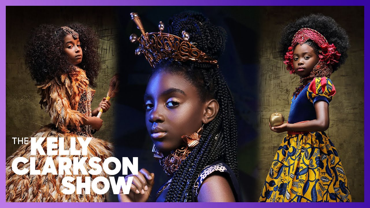 Woman Transforms Young Black Girls Into Princesses To Inspire More Representation