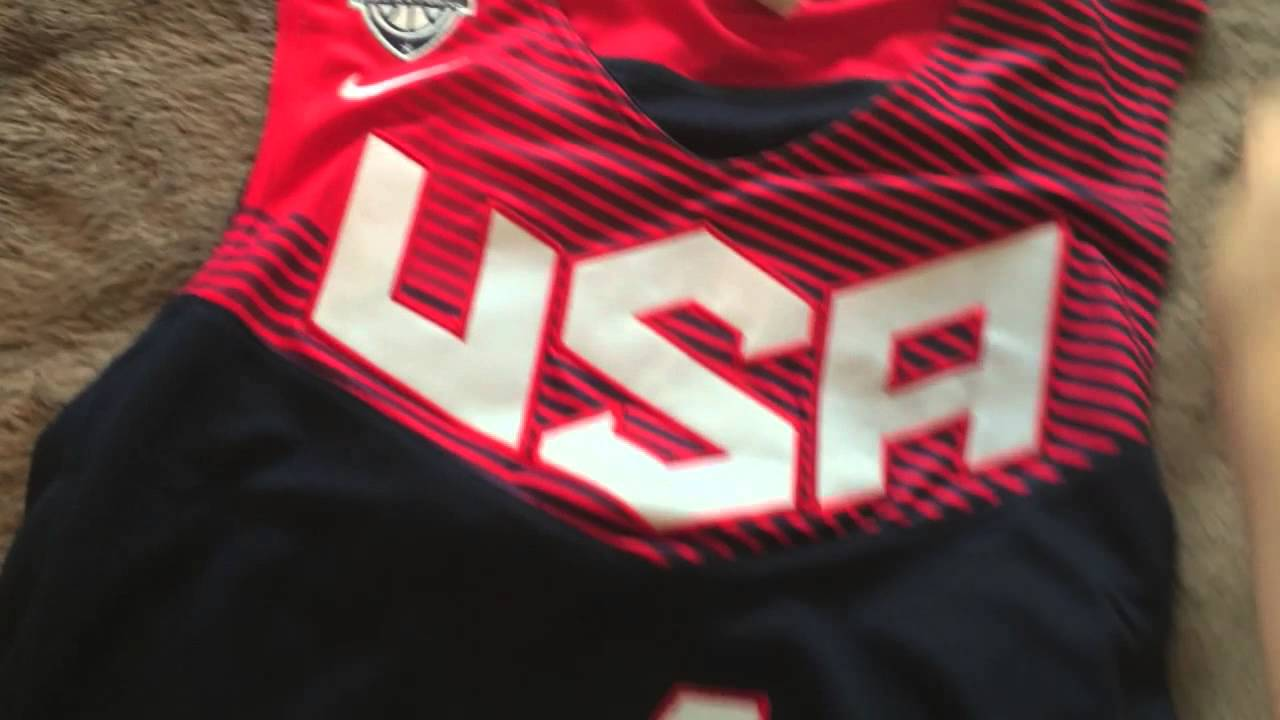 huge discount 08ec9 881d0 USA Basketball Jersey Unboxing/Review from AliExpress