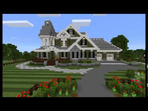 Ancient Builds Victorian Style Mansion Minecraft Pe Youtube