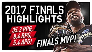 Kevin Durant Finals MVP Offense Highlights VS Cavaliers (2017 Finals) - MUST WATCH!