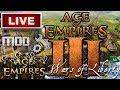 Multijugador en Linea de Age of Empires 3 Mod Wars of Liberty