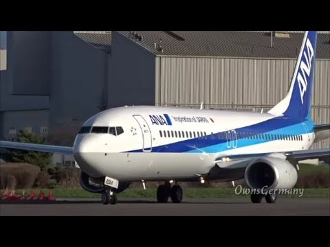 Beautiful ANA Boeing 737-800 First Flight Documentary