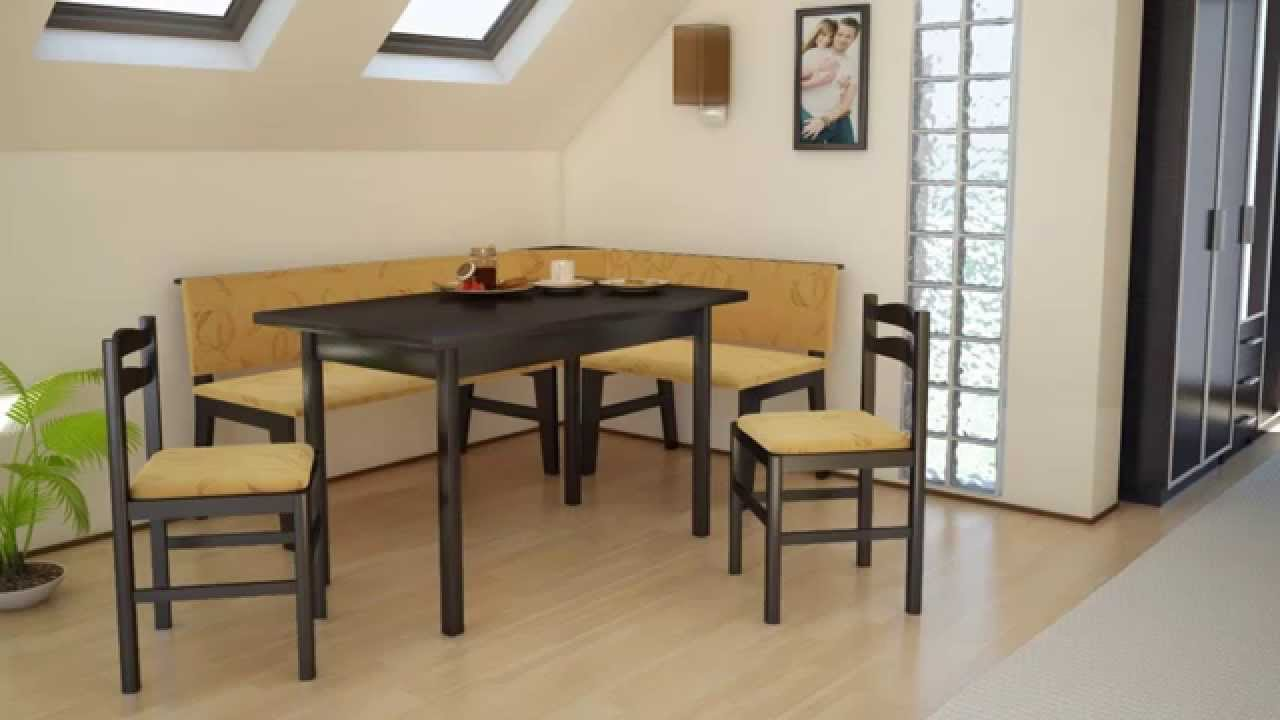 Cool Corner Breakfast Nook Table Set Ideas YouTube
