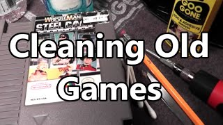 How I Clean My Old Video Game Cartridges (Sega, Atari, Nintendo Ect.)