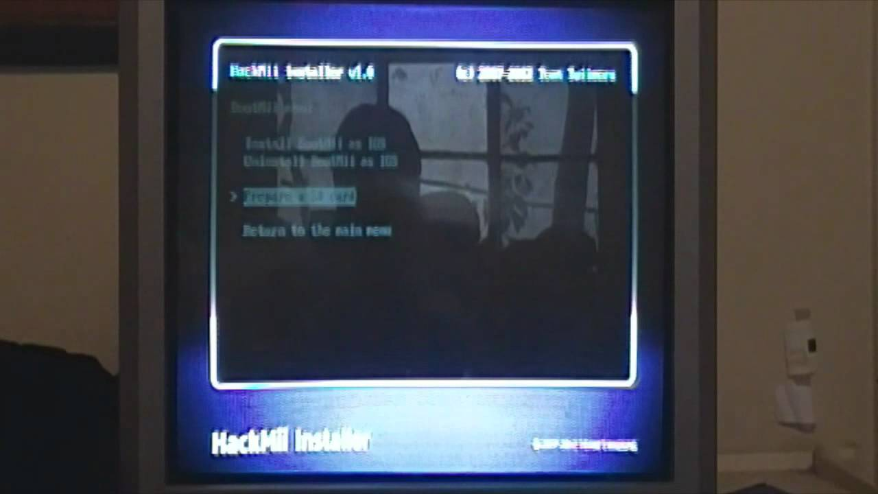 [4 3] Hacking your Wii: Homebrew/BootMii Installation and App Tutorial