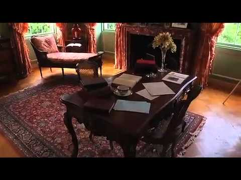 the mount edith wharton 39 s estate in the berkshires youtube. Black Bedroom Furniture Sets. Home Design Ideas