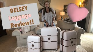 Delsey Chatelet Luggage Review!! ❤️