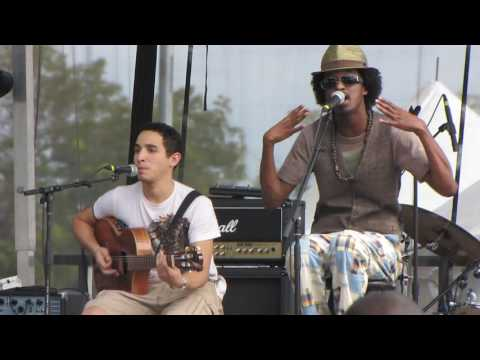 K'Naan - Take A Minute - Acoustic Live at Austin City Limits Music Festival 2009
