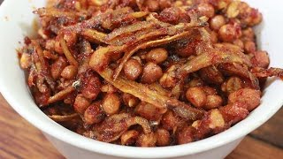 Spicy Fried Chilli of Tempe and Dried Anchovies