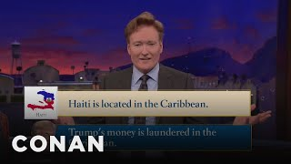 Conan Thinks Trump & Haiti Have A Lot In Common  - CONAN on TBS