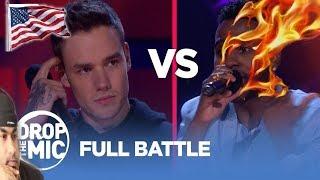 Drop the Mic: LIAM PAYNE vs JASON DERULO - FULL BATTLE | TBS | REACTION