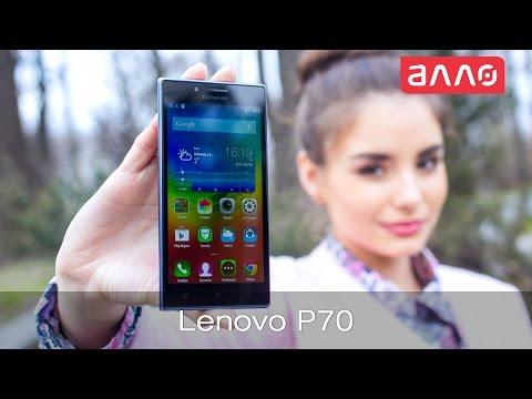 Видео-обзор смартфона Lenovo P70