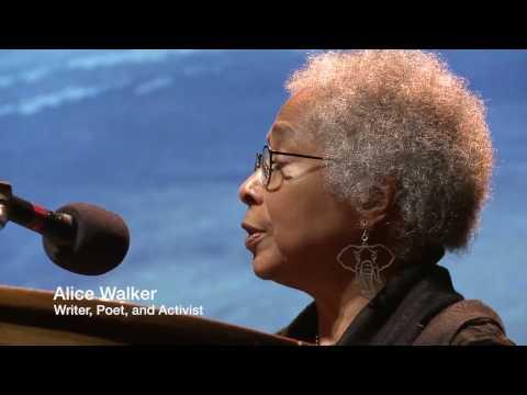 Alice Walker keynote speeech -- Earth at Risk Conference 2014