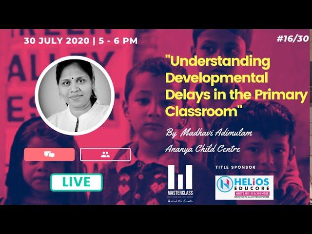 Developmental Delays in the Primary Classroom