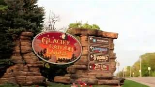 Glacier Canyon Lodge at Wilderness Hotel in Wisconsin Dells