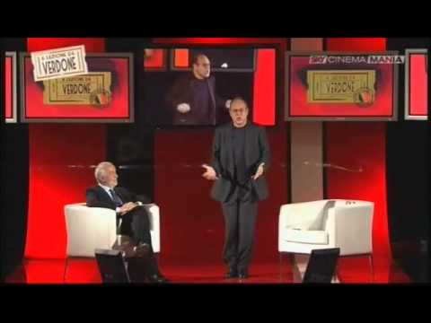 Carlo Verdone - A lezione da Verdone - Parte 1
