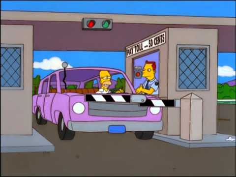 The Simpsons - Glove Slap