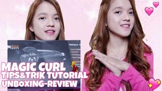 TUAN KRAB KEPITING MAGIC CURL ? UNBOXING BABYLISS PRO PERFECT CURL TIPS TRIK & TUTORIAL BHS IND