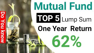 Top 5 Mutual Funds Lump Sum Hindi | One Year Return 68% | Subhash Tech Live.