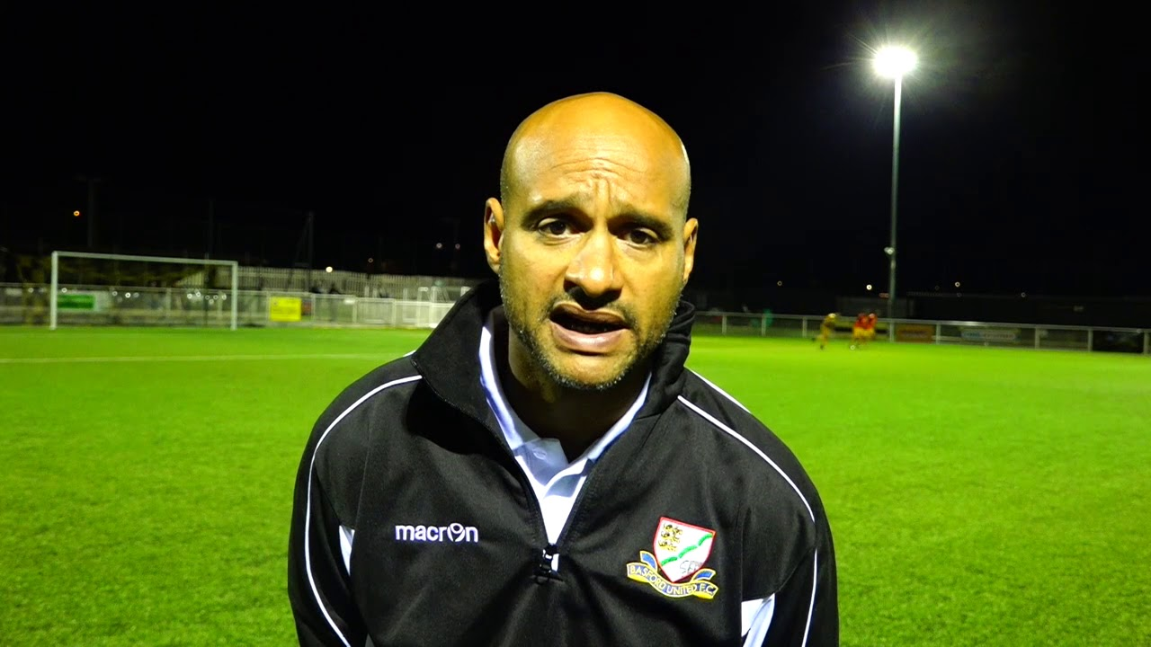 Post Match Interview Vs Hednesford Manager Martin Carruthers Youtube
